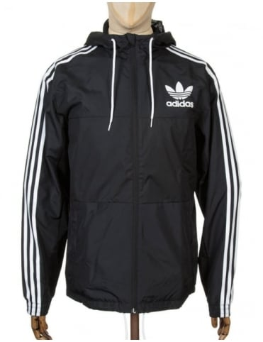 Adidas Originals California Wind Breaker Jacket - Black