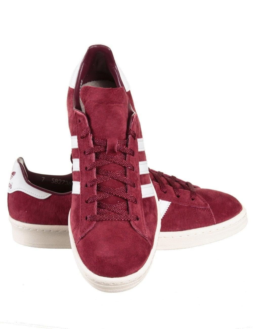 Campus 80s Japan Vintage Shoes Collegiate Burgundy