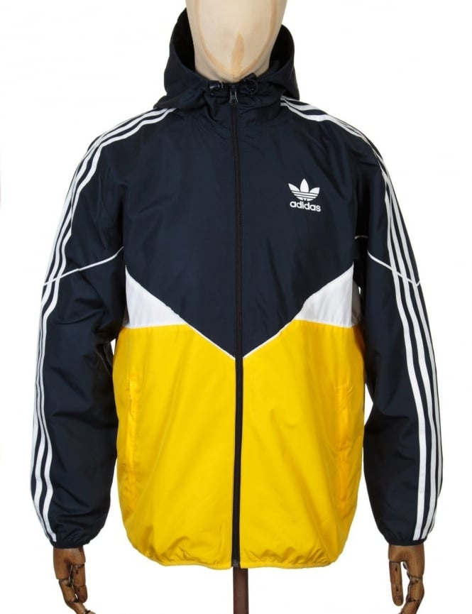 Adidas Originals Colorado Wind Breaker Jacket - Legink/Yellow
