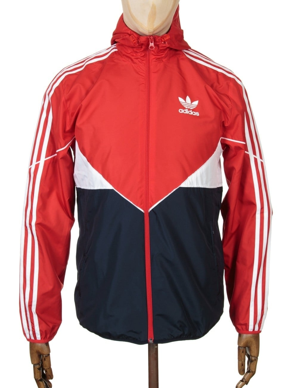 980f8f4ab Adidas Originals Colorado Wind Breaker Jacket - Vivid Red/Legink ...