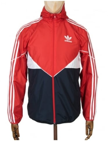 Adidas Originals Colorado Wind Breaker Jacket - Vivid Red/Legink