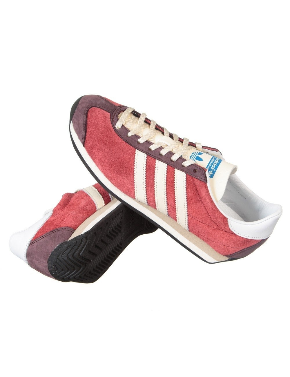 83ae5e78f6c Adidas Originals Country OG Shoes - Rust Red - Footwear from Fat ...