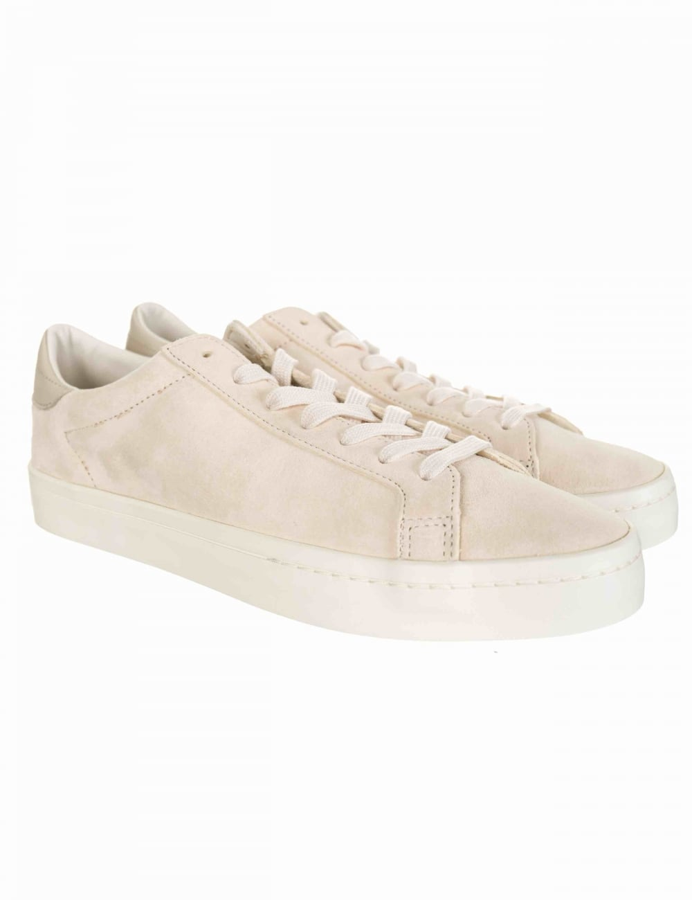 premium selection f7731 ddc31 Adidas Originals Court Vantage Shoes - Clear Brown Chalk White