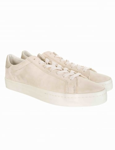 Court Vantage Shoes - Clear Brown/Chalk White