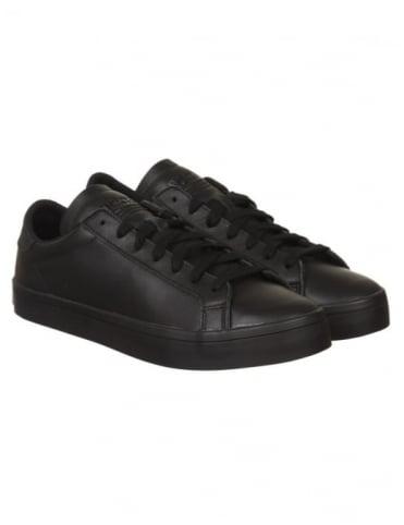 Adidas Originals Court Vantage Shoes - Core Black/Black