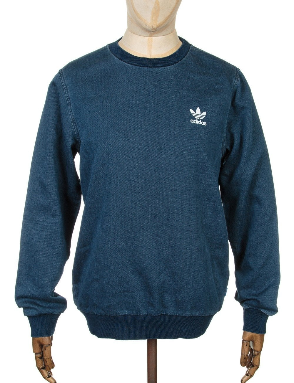 Sweatshirt Medium Sweatshirt Blue Denim Blue Denim Denim Sweatshirt Medium SMVUzp