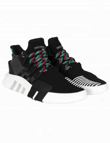 EQT Bask ADV Shoes - Core Black/Sub Green