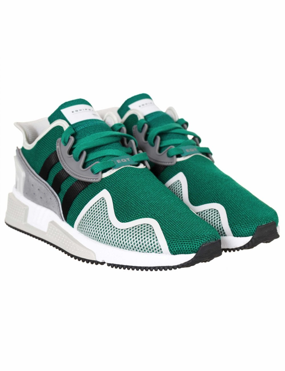 best service 7b533 ac006 EQT Cushion ADV Trainers - Sub Green/Core Black