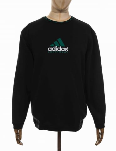Adidas Originals EQT Heavyweight Sweatshirt - Black