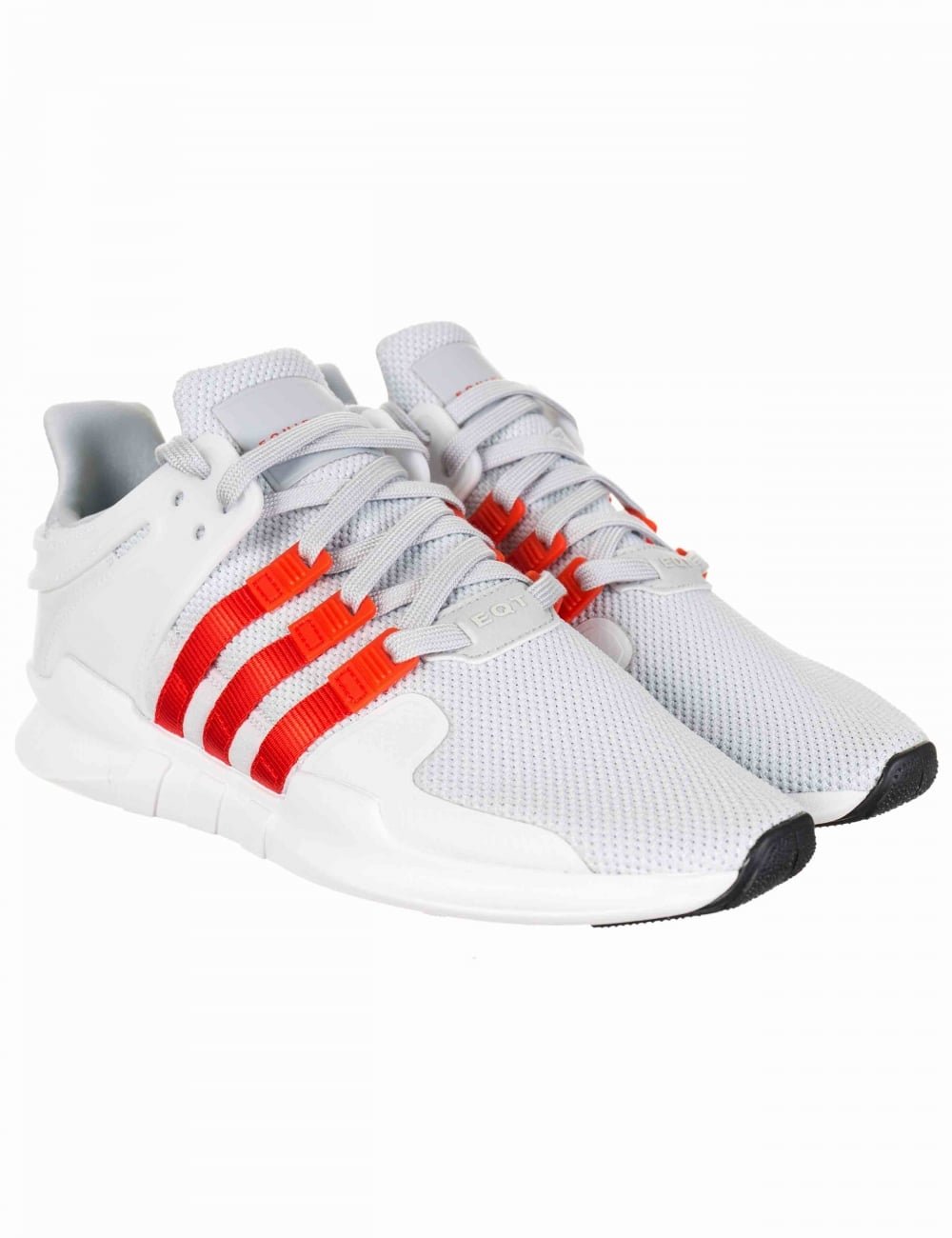 newest collection 393c4 08cb5 EQT Support Advance Shoes - Clear Grey/Bold Orange (BY9581)