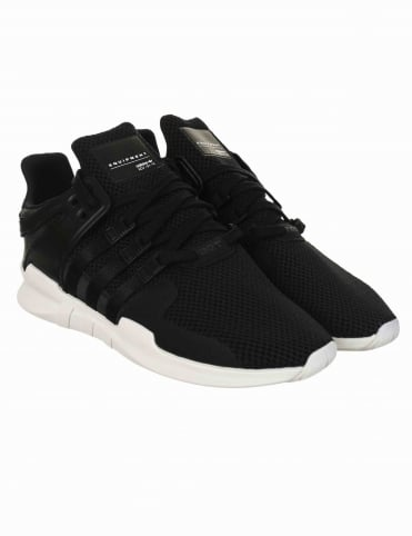 EQT Support Advance Shoes - Core Black/Core Black (BA8326)