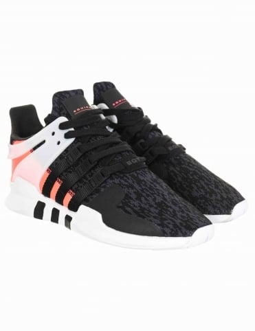EQT Support Advance Shoes - Core Black/Turbo (BB1302)