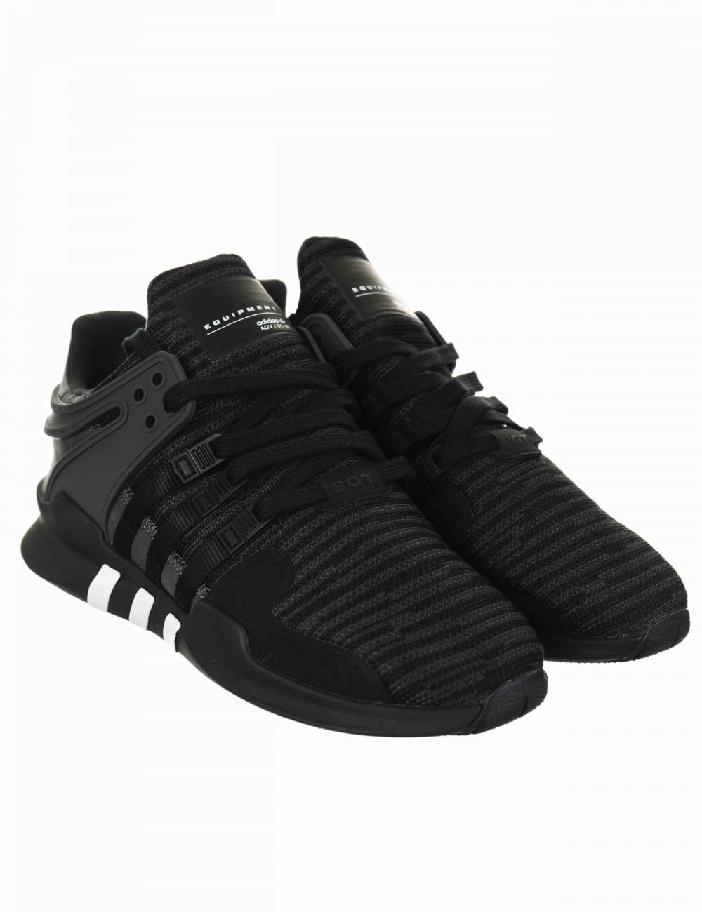 huge discount 93dba 18ea1 EQT Support Advance Shoes - Core Black/Utility Black (BB1297)