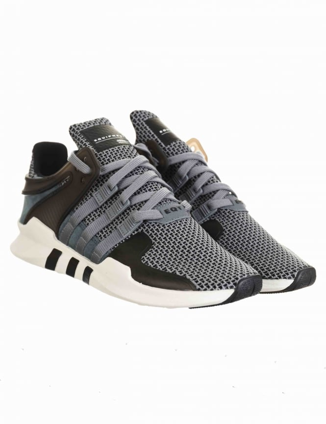 online store dc296 472c9 EQT Support Advance Shoes - Grey/Grey/Core Black (BA8325)