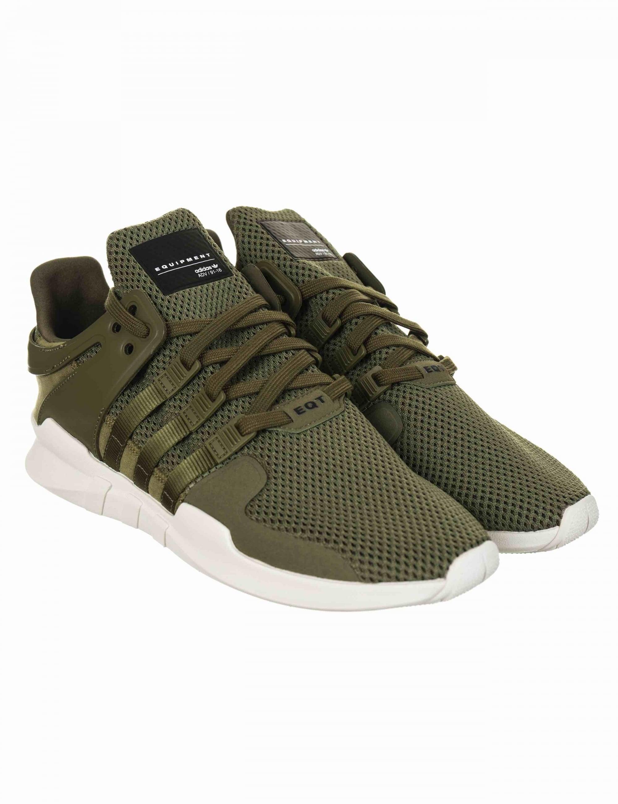 EQT Support Advance Shoes - Olive Cargo (BA8328)