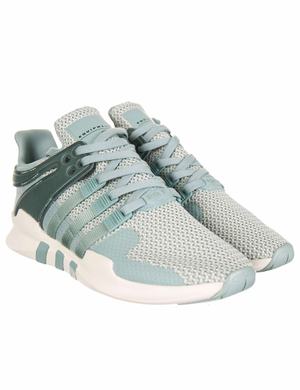 buy online dc683 b37d2 EQT Support Advance Trainers - Tactile Green/Off White (BA7580)