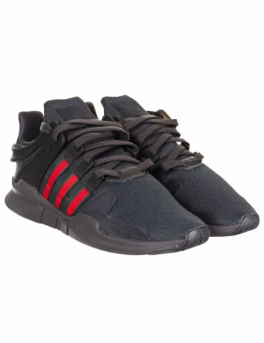 EQT Support Advance Shoes - Utility Black/Scarlet (BB6777)