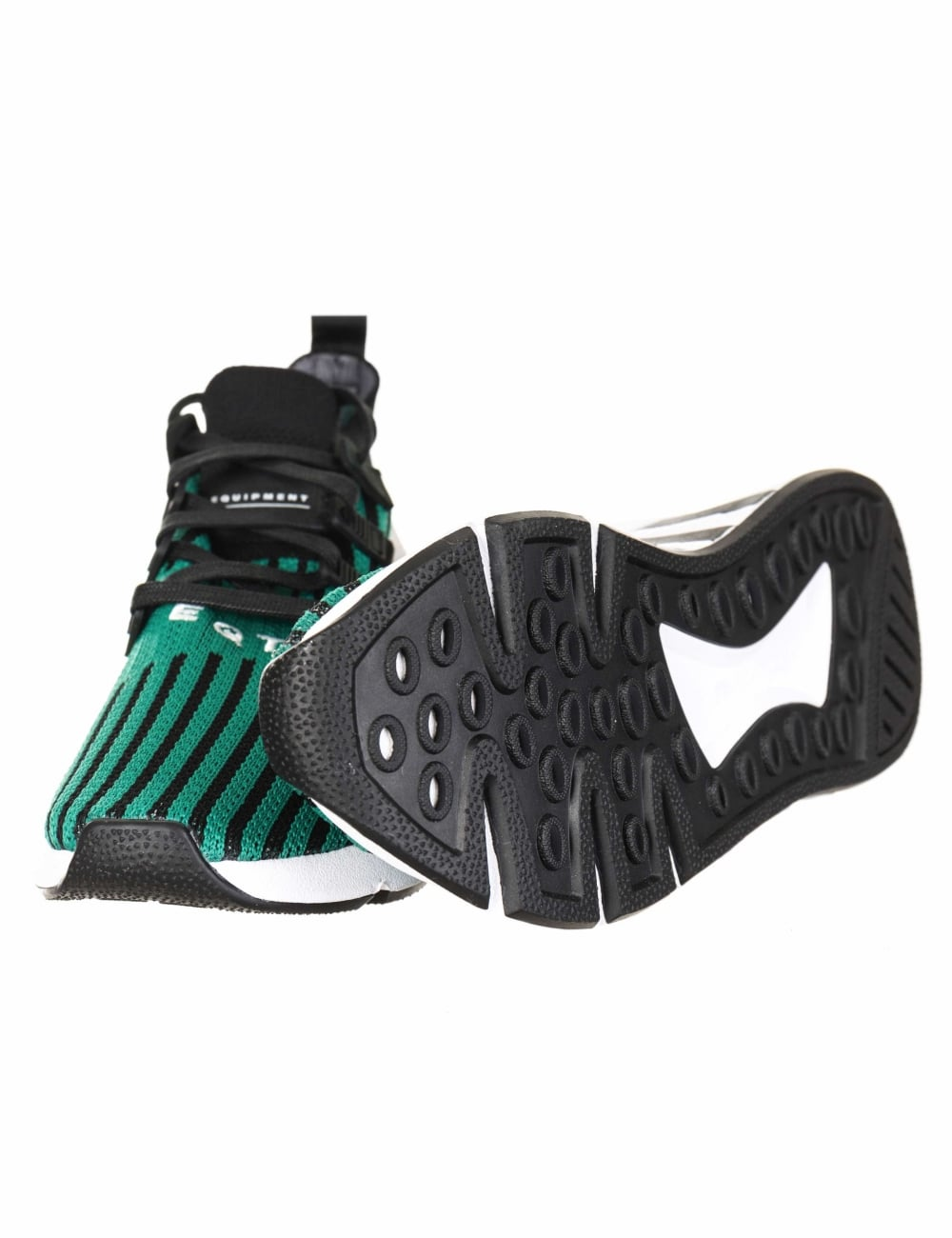 online store d48c8 38eb5 EQT Support Mid ADV Primeknit Shoes - Core BlackSub Green