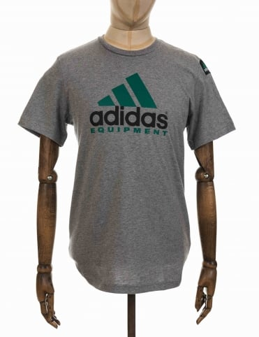 Adidas Originals EQT T-shirt - Core Heather