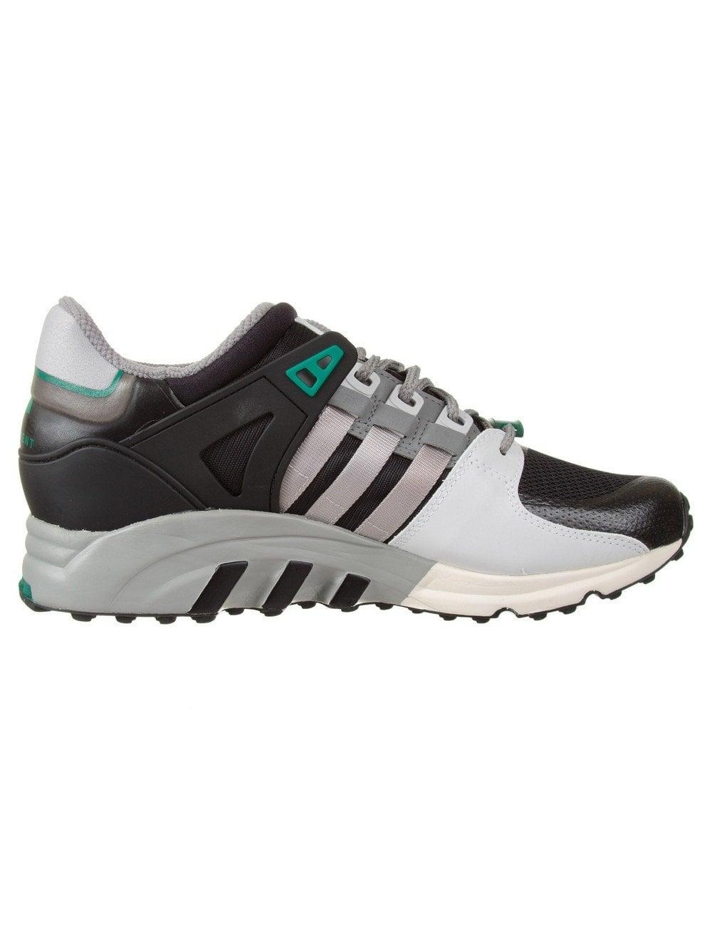 A bordo Falsedad restaurante  Adidas Originals Equipment Running M25107 Shoes - Core Black/Lt Solid Grey  - Footwear from Fat Buddha Store UK
