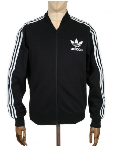 Fashion Track Top - Black