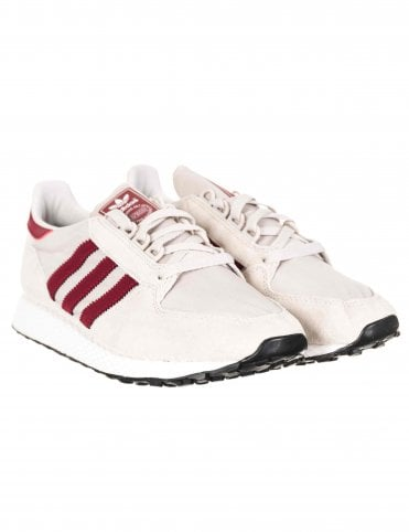 0fec312454ad43 Adidas Originals Forest Grove Trainers - Chalk Pearl FTWR White