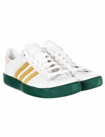 c83388bc2db98c Forest Hills Trainers - White Gold Green