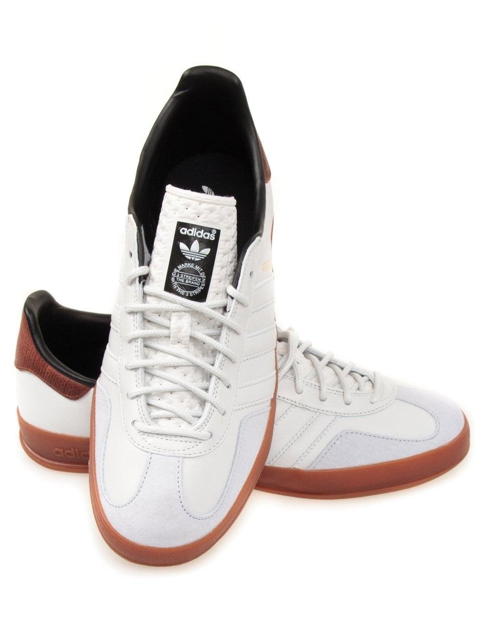 Adidas Originals Gazelle Indoor Trainers - Neo White
