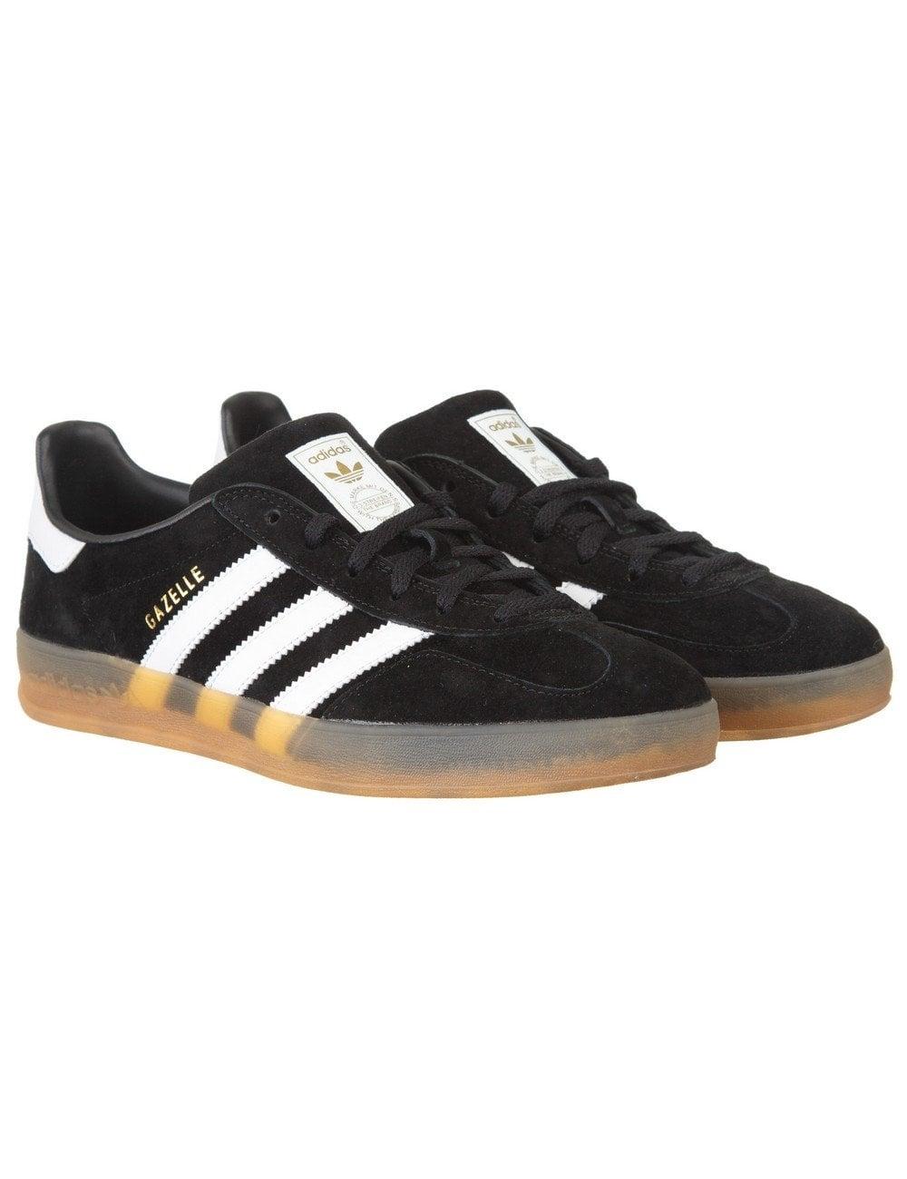 Gazelle Indoor Shoes - Black/White