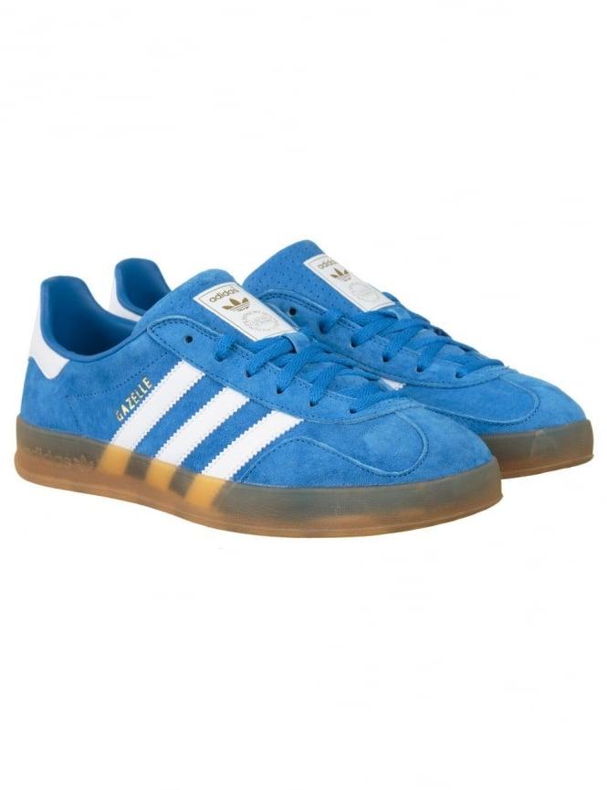 Adidas Originals Gazelle Indoor Shoes - Bluebird