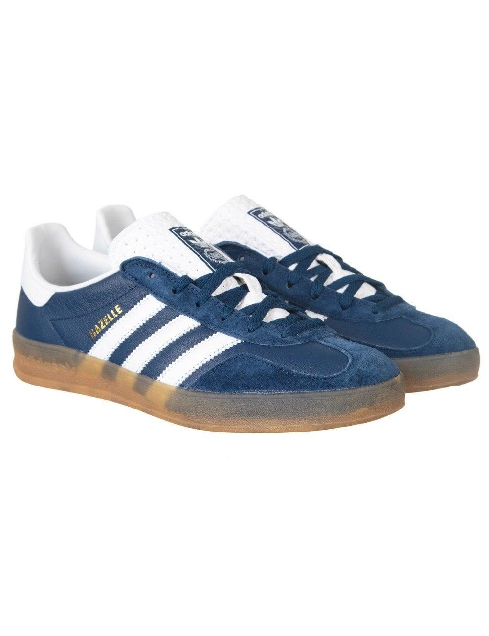 reputable site 5dde2 fcb44 Adidas Originals Gazelle Indoor Shoes - Oxford Blue