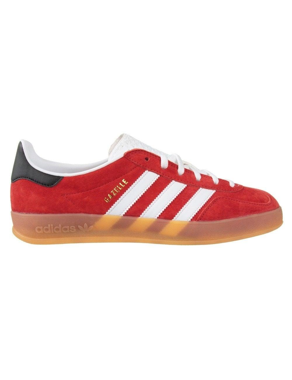 Originals Gazelle Indoor Footwear Redwhite Shoes From Adidas 7xzdwHq5H