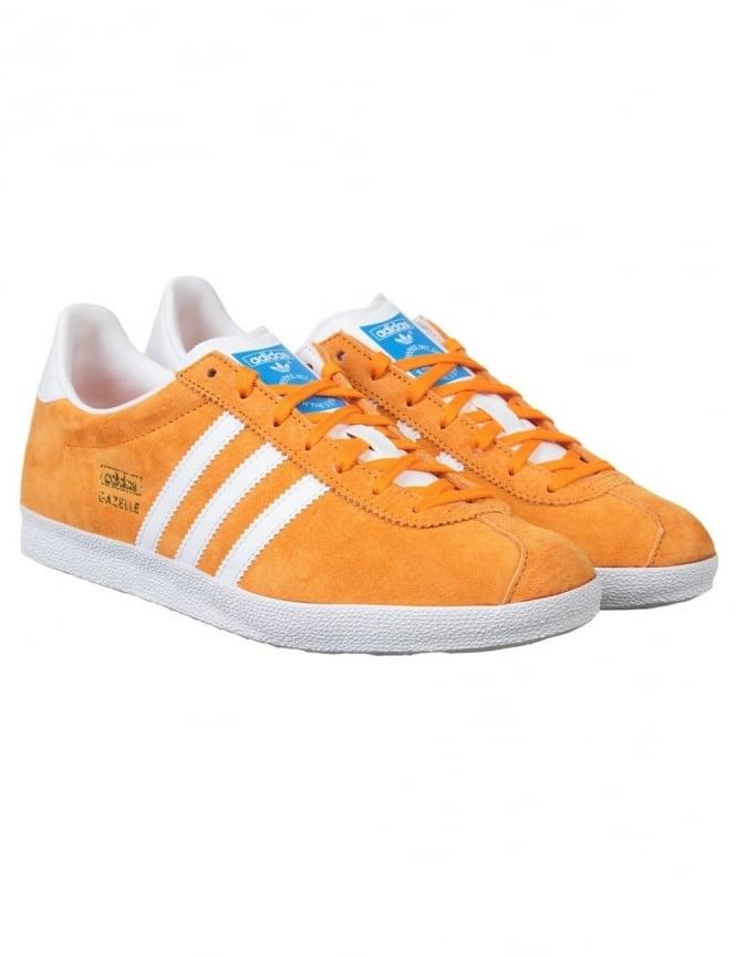 Adidas Originals Gazelle OG Shoes - Bright Orange