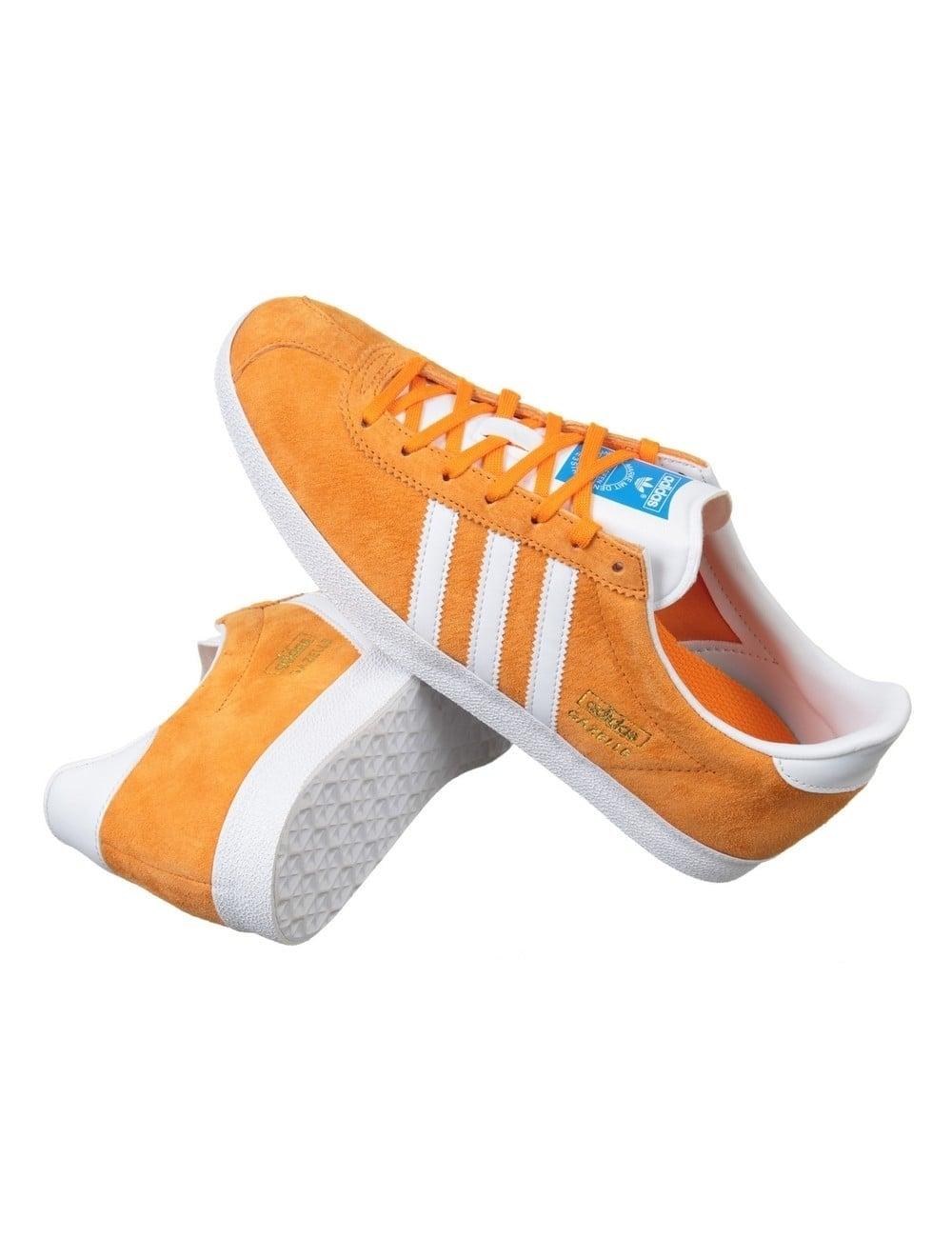 premier taux 2c405 86f6a Gazelle OG Shoes - Bright Orange