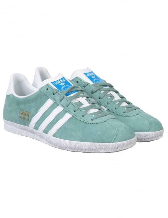 Adidas Originals Gazelle OG Shoes - Legend Green