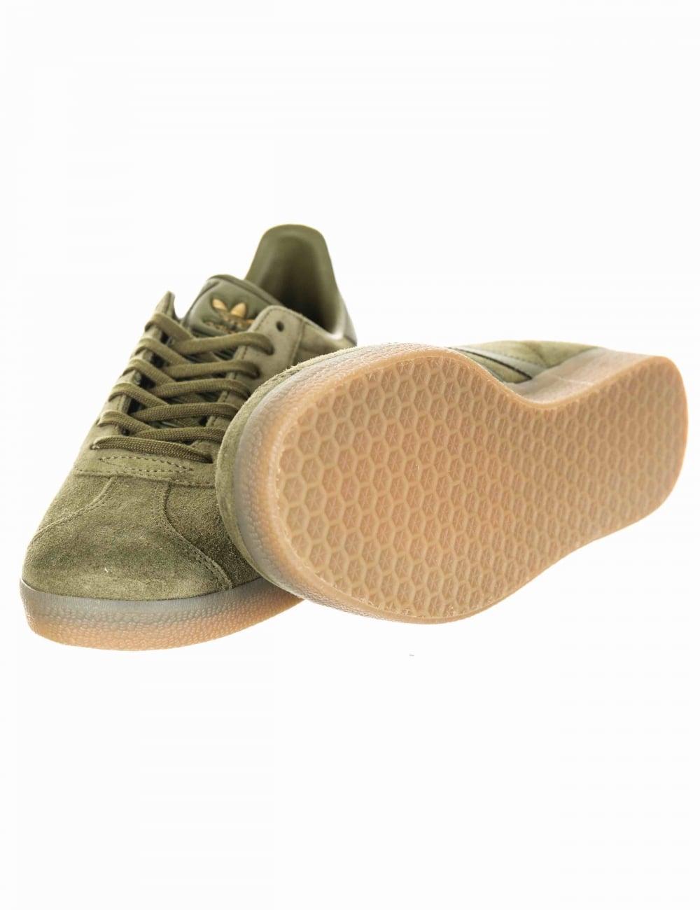 reputable site e2698 18114 Gazelle OG Shoes - Olive CargoGum