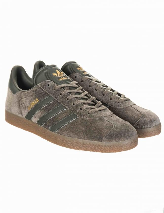 timeless design 3b7b1 e2f25 Gazelle OG Shoes - Utility Grey Gum