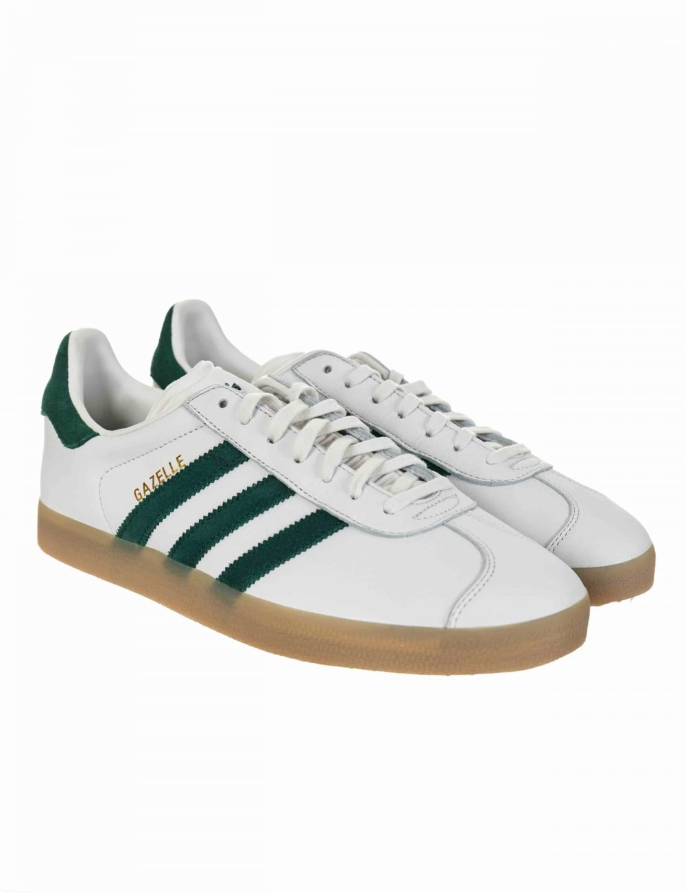 Gazelle OG Shoes Vintage WhiteCollegiate Green