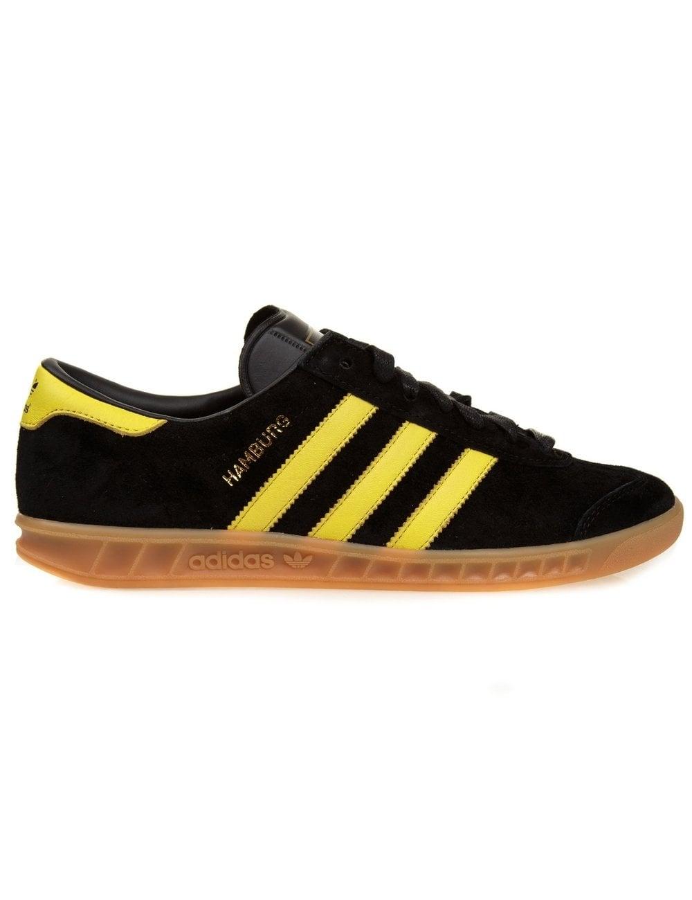 quality design 8c76c 0e6a0 Adidas Originals Hamburg - Black Yellow