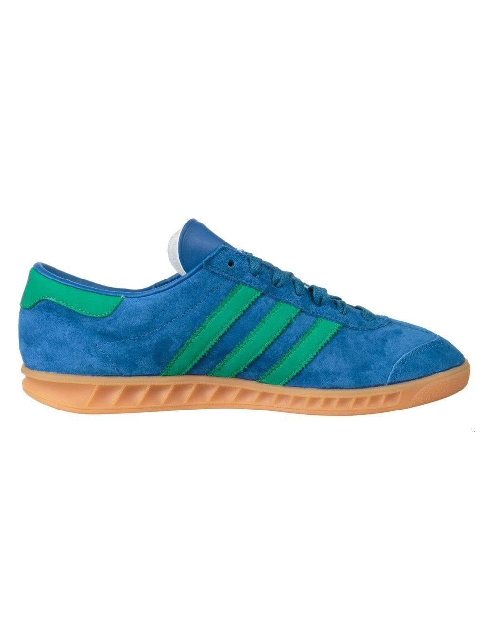 Hamburg Shoes - Lush Blue/Fresh Green