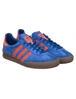 Adidas Originals Jeans Shoes OG - Collegiate Royal/Solar Red