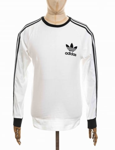 Adidas Originals L/S California T-Shirt - White