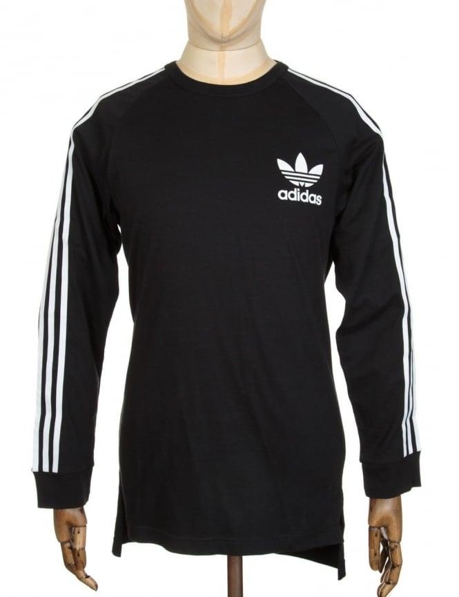 Adidas Originals L/S Fashion T-shirt - Black/White