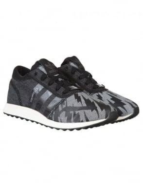 Adidas Originals Los Angeles Shoes - Core Black