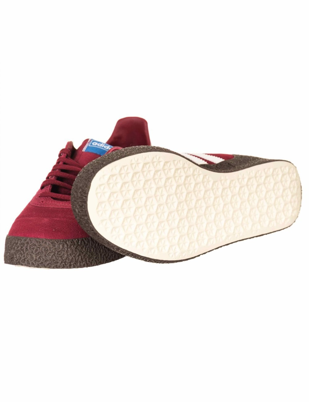 8185680487c120 Adidas Originals Montreal  76 Trainers - Noble Maroon Off White ...