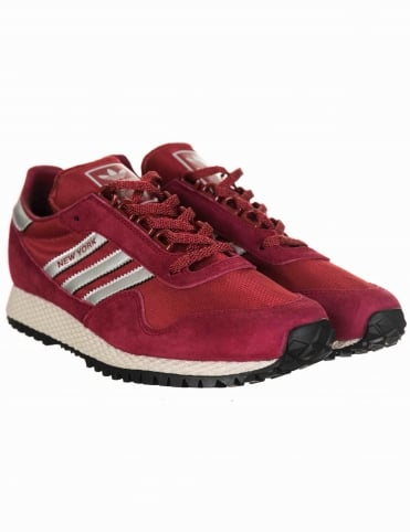 Adidas Originals New York Shoes - Collegiate Burgundy