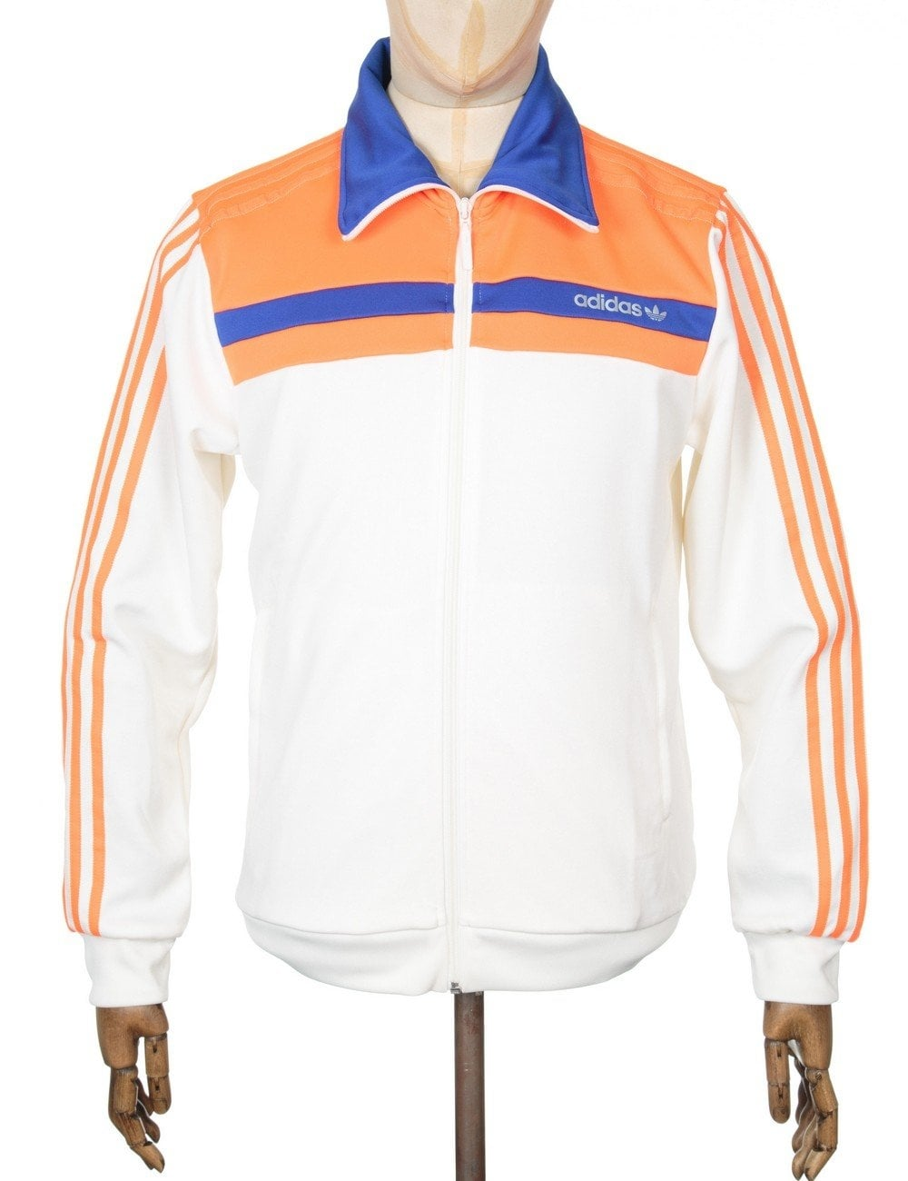 new style 00955 6b914 Adidas Originals Nite Jogger OG Track Top - Chalk White