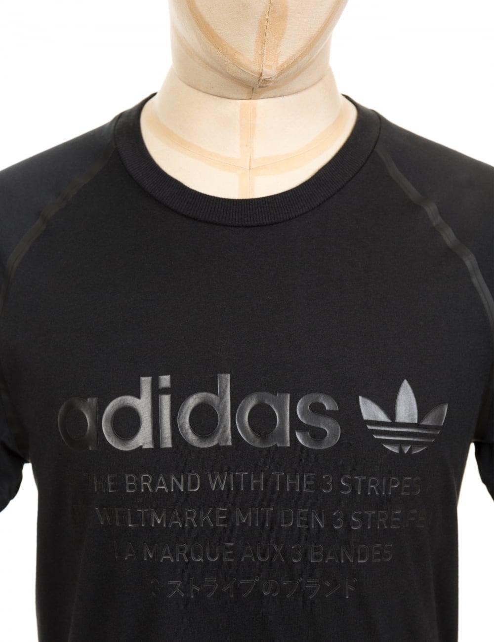 e7d20d1efcea0 Adidas Originals NMD D Tee - Black - Clothing from Fat Buddha Store UK