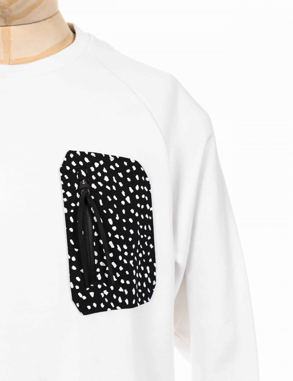caf2dfbf4d35d Adidas Originals NMD Pocket Crewneck Sweeatshirt - White - Clothing ...