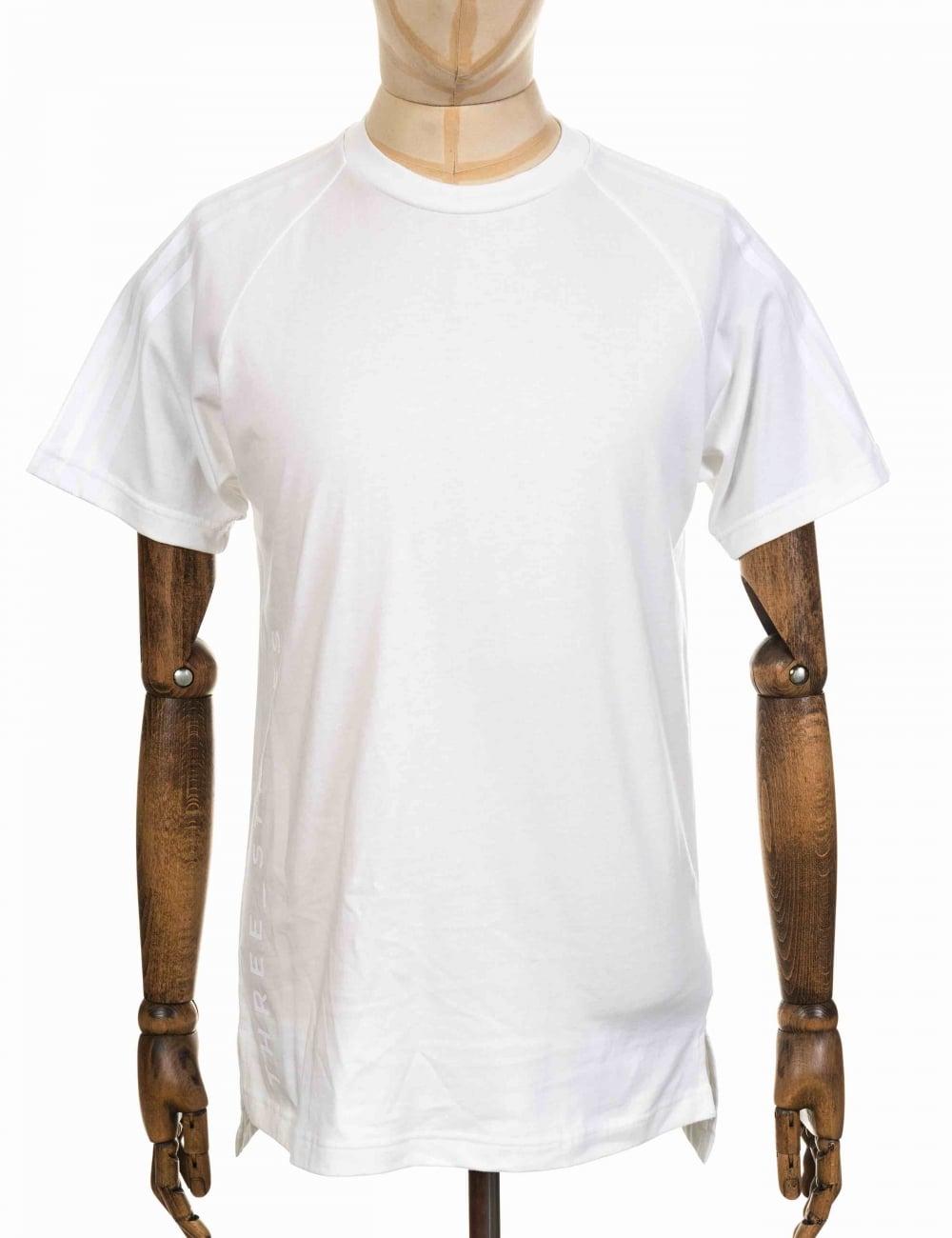 1f28e0664c508 Adidas Originals NMD Tee - White - Clothing from Fat Buddha Store UK